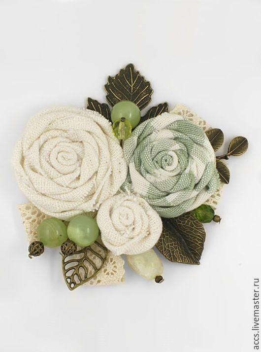 """Броши ручной работы. Ярмарка Мастеров - ручная работа. Купить Брошь """"Весенний букет"""" - брошь в форме цветков. Handmade. Брошь"""