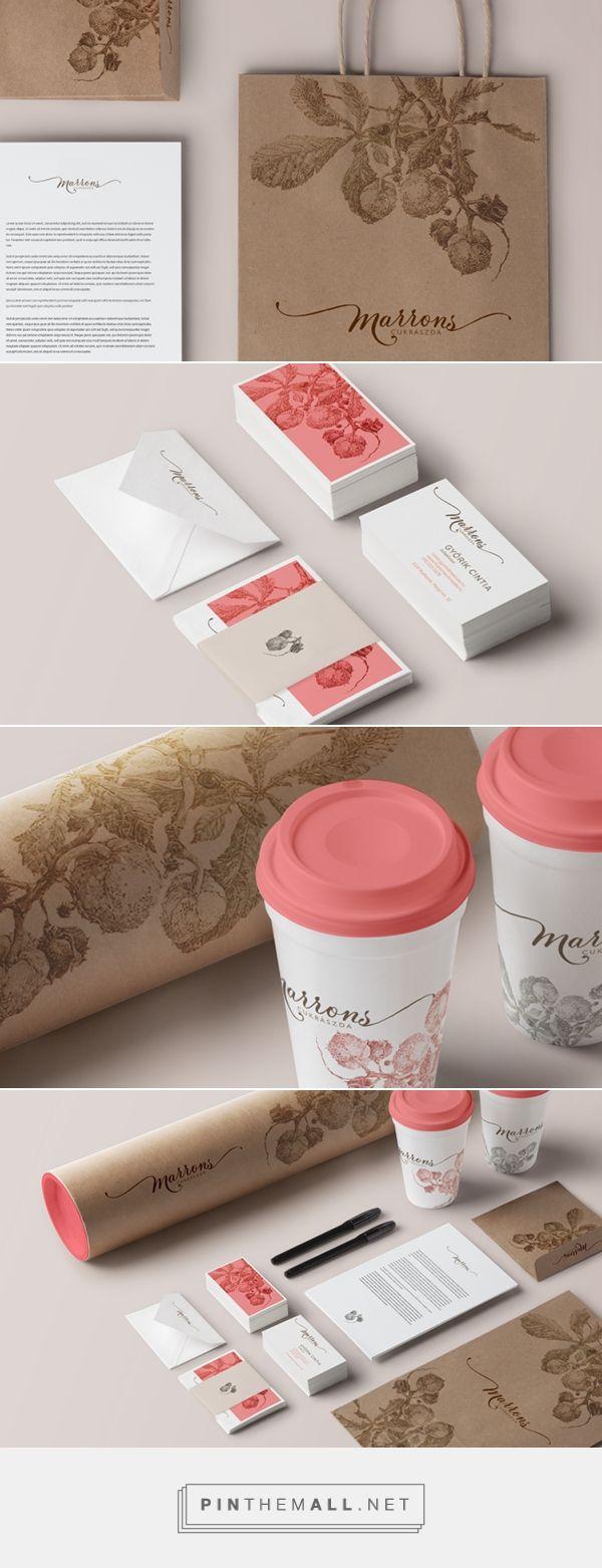 Marrons// on Behance   Fivestar Branding – Design and Branding Agency
