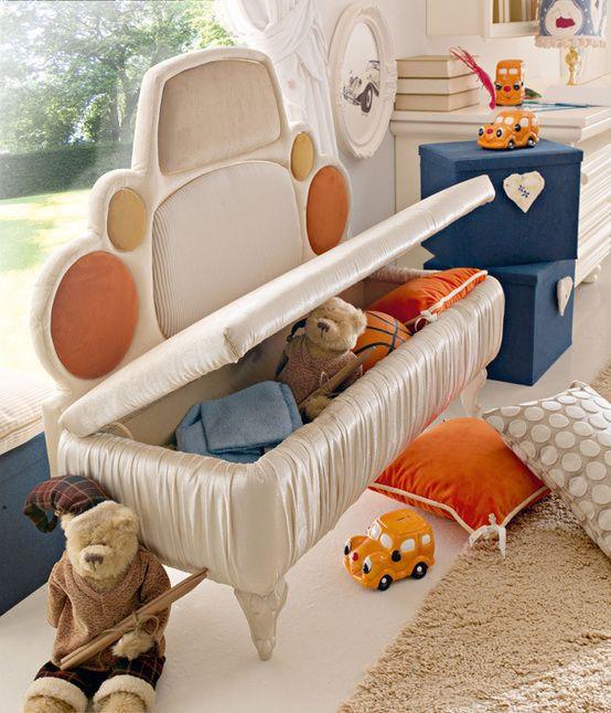 Inspirational  ostern versteck geschenk ueberraschung kinderzimmer truhe sitztruhe sitzbank