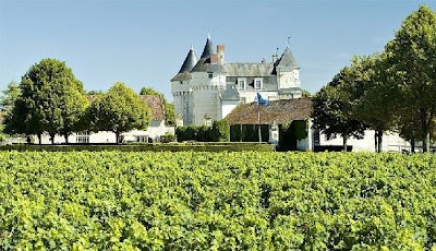 Chateau de Marcay, Chinon, France