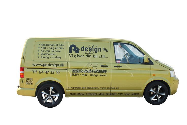 PR Design Servicebil