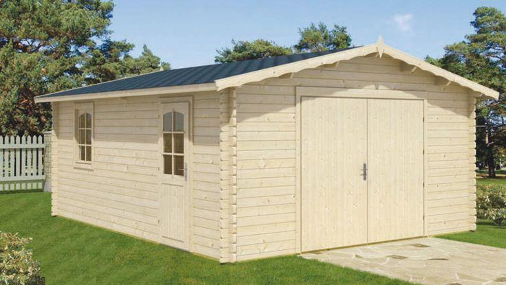 Garage prefabbricati in legno usati con garage in legno for Box per cani prefabbricati usati
