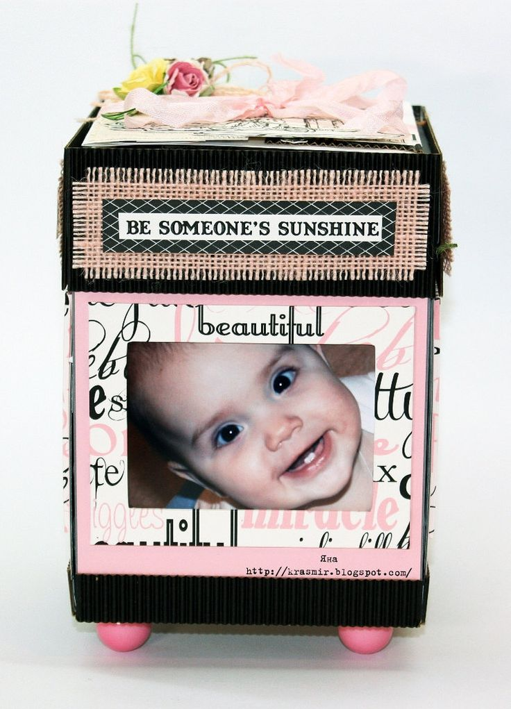 Детский альбом-коробка by madeByYanaNovykova on Etsy