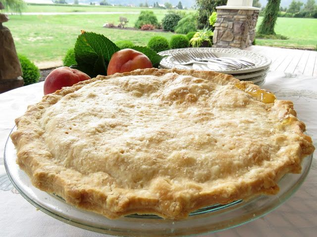 Pfirsichkuchen | Mennonitische Mädchen können kochen | Bloglovin '   – BakerLover