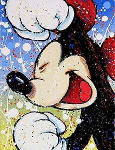 Mickey Mouse - Happily Ever Laughter - David Willardson - World-Wide-Art.com - $1100.00 #Willardson #Disney #Mickey