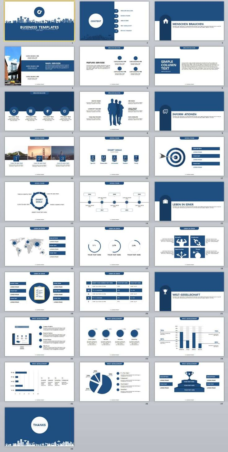 business Report PowerPoint templates