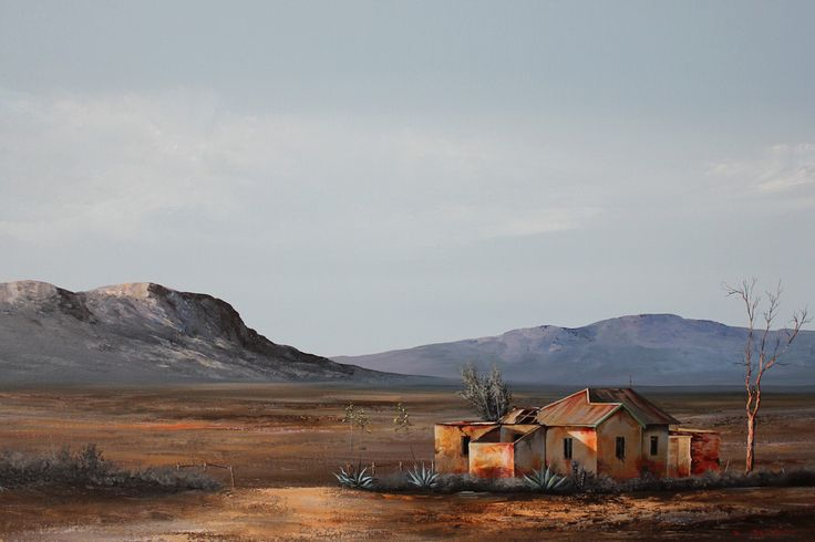 Karoo Landscape by Rick Becker - https://www.facebook.com/rick.becker.56
