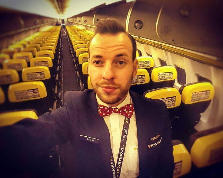 from @pawelpalko -  Merry Christmas from the sky! #christmas #festiveseason #airport #aircraft #instaboy #instaselfie #selfie #gayguy #gay #gayboy #beard #bowtie #happy #gayselfie #gej #polskigej #polishboy #polishgay #gayboy #guy #instagay #crewfie #cabinlife #cabincrew #ryanair #crewiser