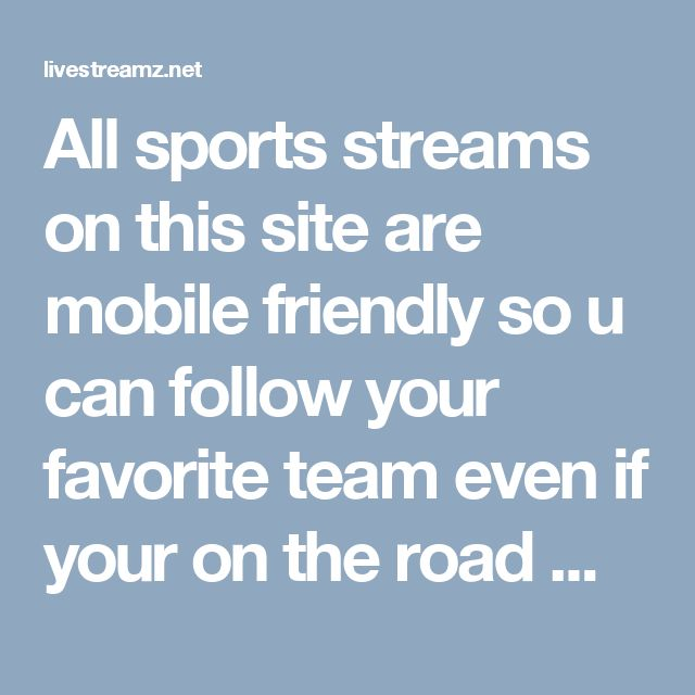 All sports streams on this site are mobile friendly so u can follow your favorite team even if your on the road with your iphone or android. http://livestreamz.net/heat-stream/ #watch_mlb_online #los_angeles_dodgers_live_stream #blue_jays_live_stream #los_angeles_dodgers #Pacers_live_stream #Hawks_live_stream #Hornets_live_stream #Heat_live_stream