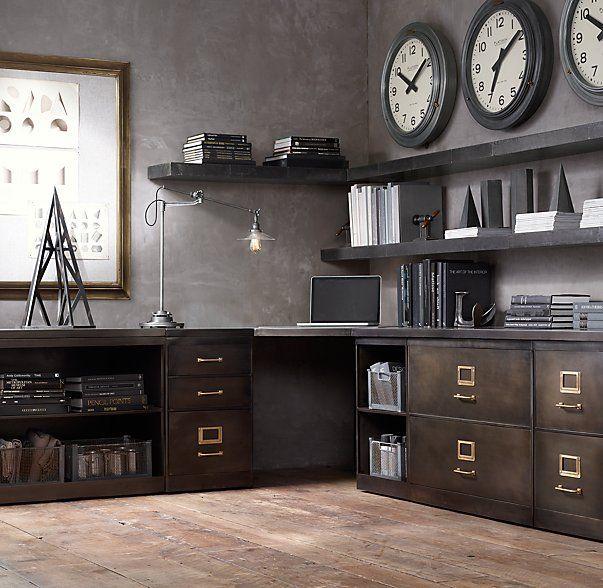 Luxury Restoration Hardware Corner Cabinet