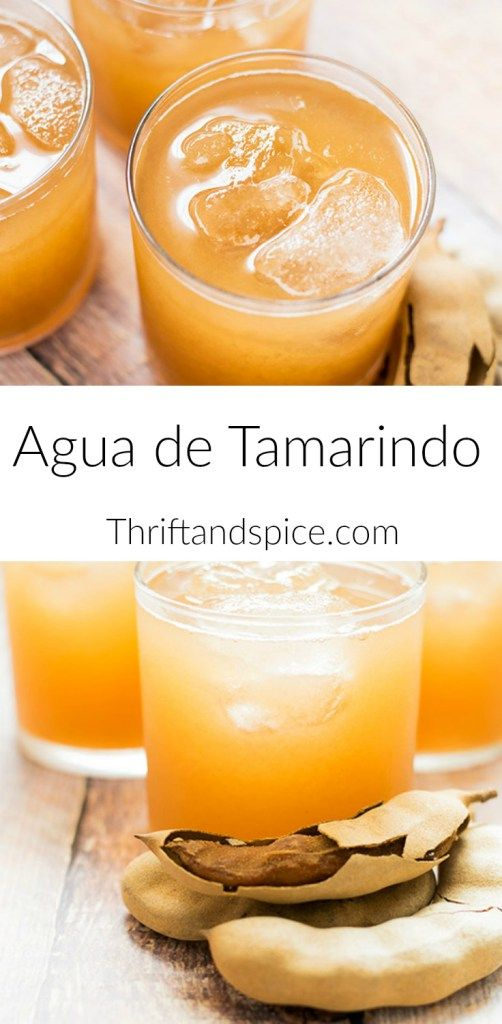 Agua de Tamarindo is a popular and delicious Mexican beverage. Try it this Cinco de Mayo!