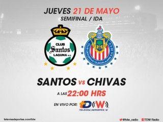 Ver Santos vs Chivas ida en Vivo – Liga MX 2015