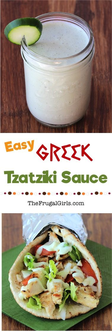 4548 best greek foods images on pinterest cooking food greek my family absolutely adores greek food and one of our favorites is a delicious greek tzatziki sauce recipe to serve with different variations of chicken or forumfinder Gallery