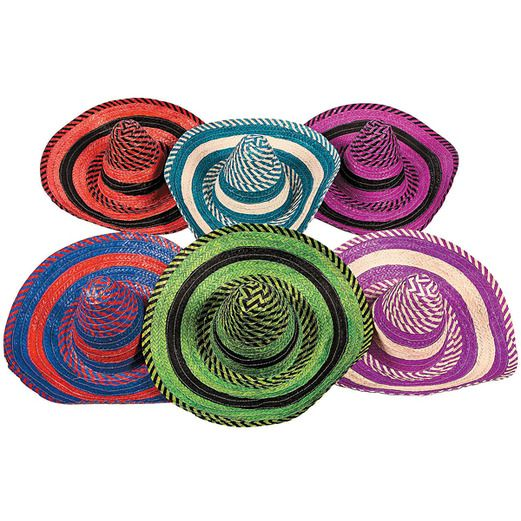 Sombreros - Mexican Party Supplies at Amols' Fiesta Party Supplies