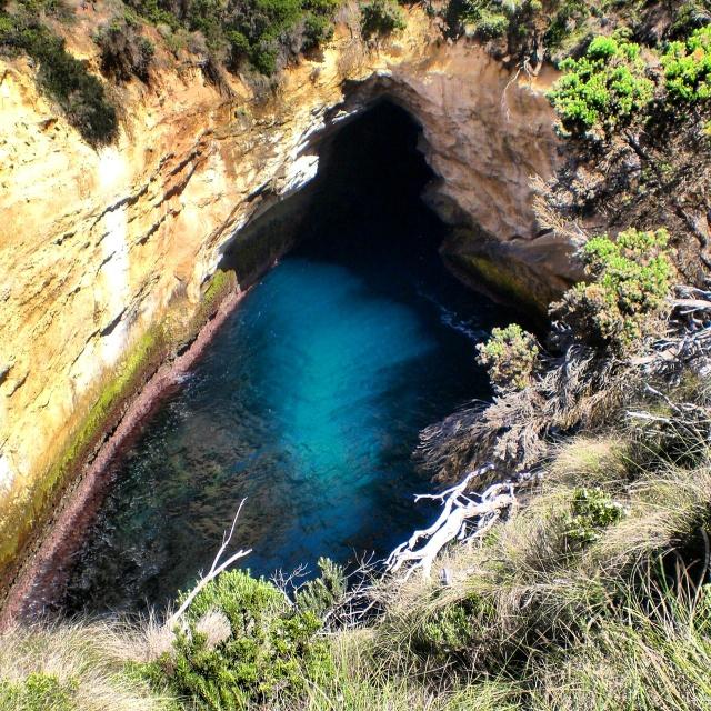 Hidden treasure on the great ocean road :-)