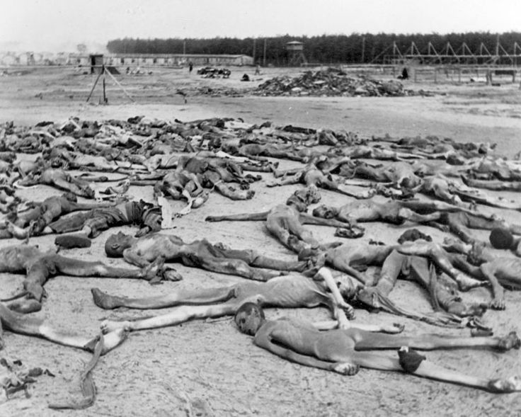 Holocaust History - Last Jews in the Last Months of the German Reich - Yad Vashem. Bergen-Belsen, May 1945, corpses of prisoners strewn throughout the camp  Yad Vashem Photo Archives 1201 « PreviousImage 4 of 8Next »