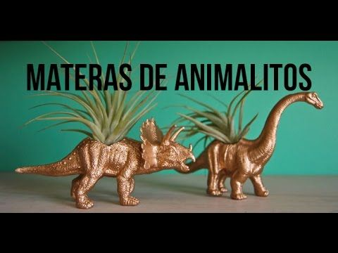 #DIY Materas o macetas de animales.