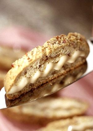 Candied Pecan Biscotti Recipe — Dishmaps