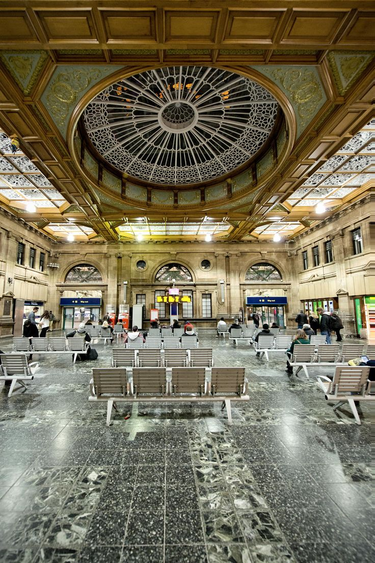 Edinburgh Waverley Station by Sebastian Lögering on 500px