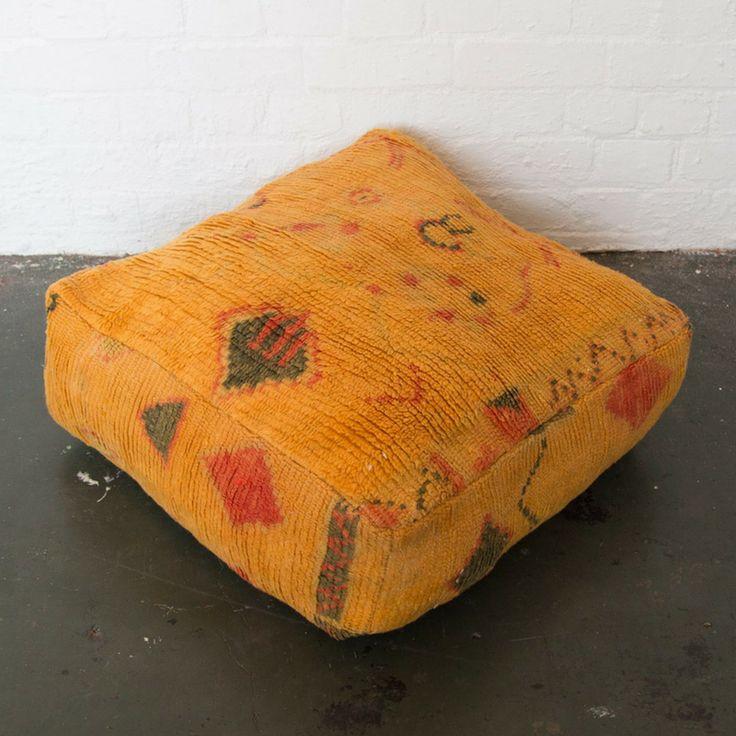 SAFFRON Boujad floor cushion – Nouvelle Nomad
