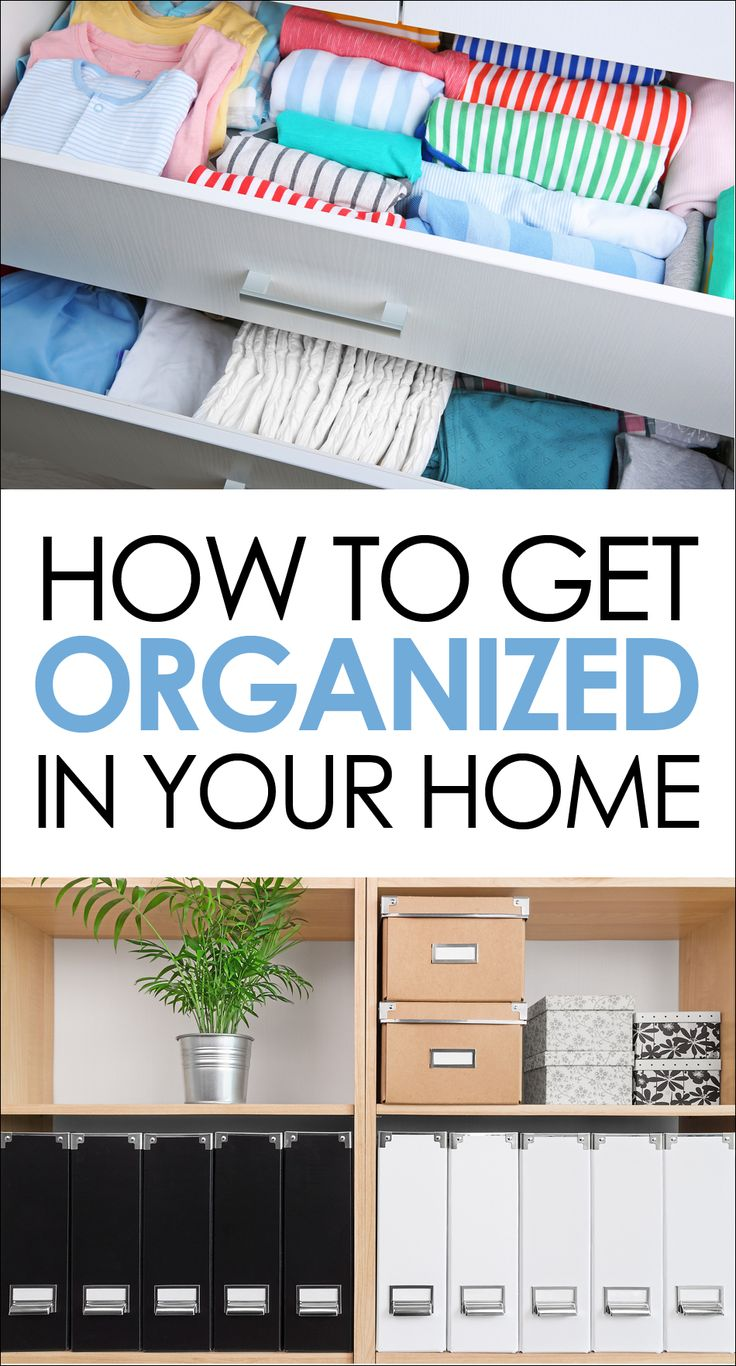 Home Organization Ideas - Best Organizing Tips and Tricks