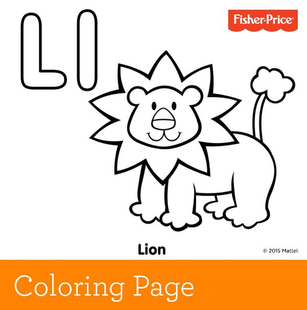 Have Fun Roaring Like A Lion With Your Child And Talking About The King Of Jungle While Coloring In Beautiful Golden Coat On Our Majestic Friend