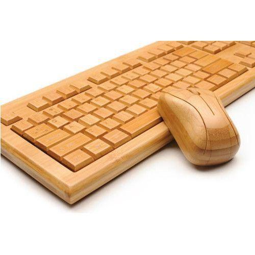 Tastatur Maus Set Keyboard Wireless Bambus Weihnachtsgeschenke für Mann, Freund, Partner, Kumpel, Vater, Opa auf Echte-Maennergeschenke.de!