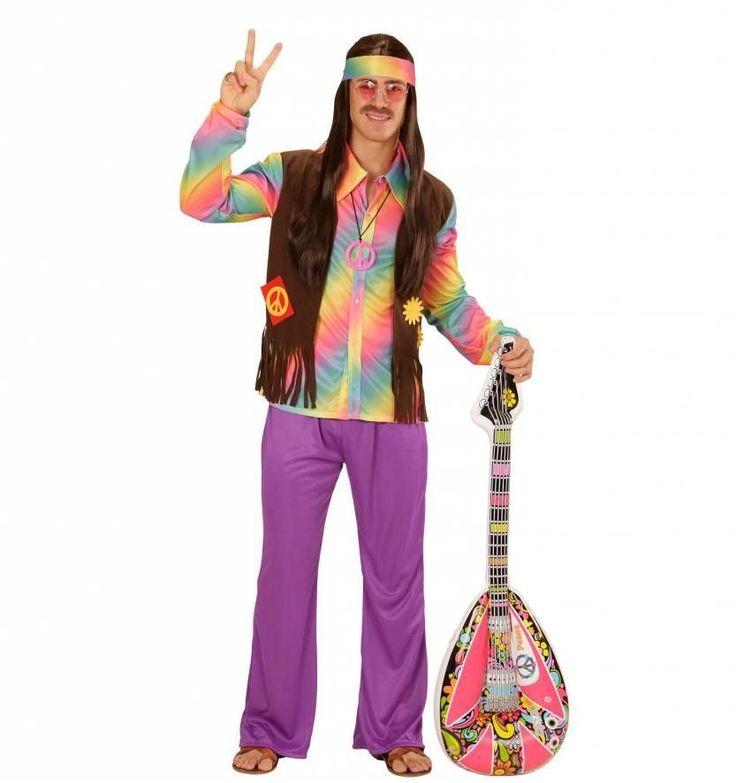 Prachtige hippie kostuums voor mannen