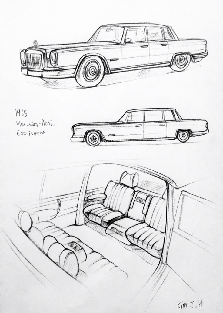 47 best Daily Car drawing images on Pinterest