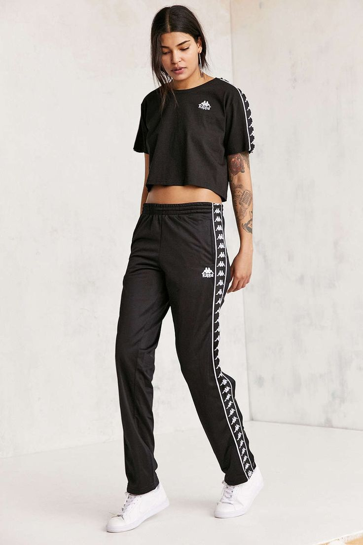 Kappa Dee Snap Button Track Pant - Urban Outfitters