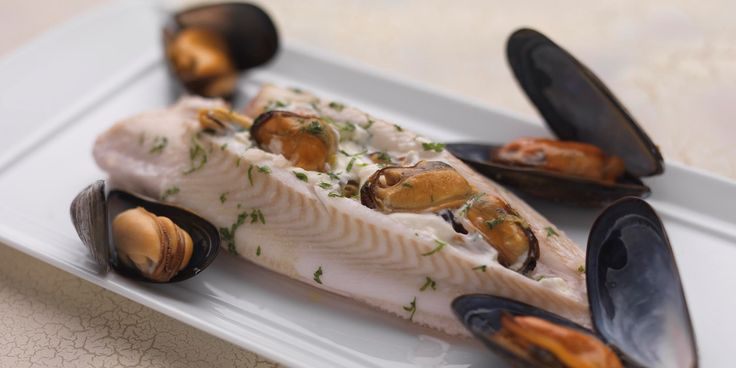 This is a lovely lemon sole recipe by Martin Wishart. Lemon sole is paired with mussels and splashed with cider, resulting in a lovely sole dish