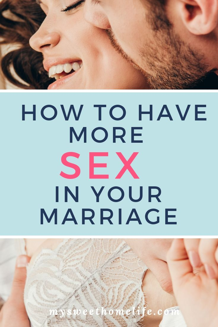 How to get more sex from wife