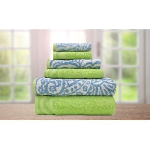 Found it at Wayfair - Libby 6 Piece Egyptian Cotton Towel Set