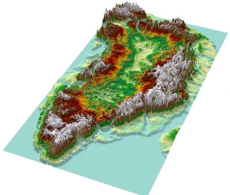 Grönland Buzullarının Sakladığı Büyük Kanyon