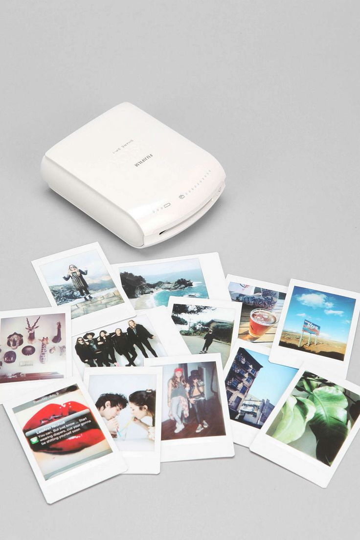The Fujifilm INSTAX Instant Smartphone Printer ($199) can be carried anywhere since it's basically the size of a phone. It's the fun of an instant camera with the convenience of working with iOS and Android devices.