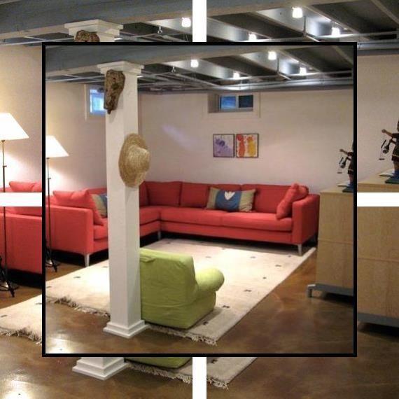 Basement Remodel Cost Basement Rehab Ideas Unfinished Basement Design Ideas
