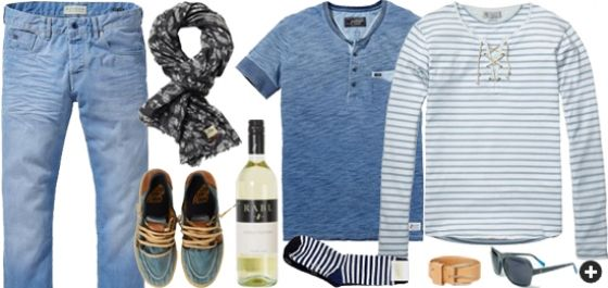 Comfy beach look for men | www.eb-vloed.nl