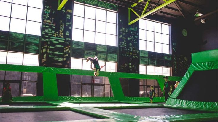 Have fun trampolining in Mitchell and Hume.