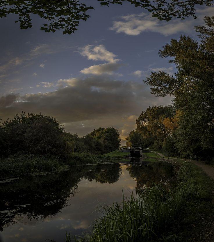 Erewash canal , Ilkeston, Derbyshire, Great Britain.