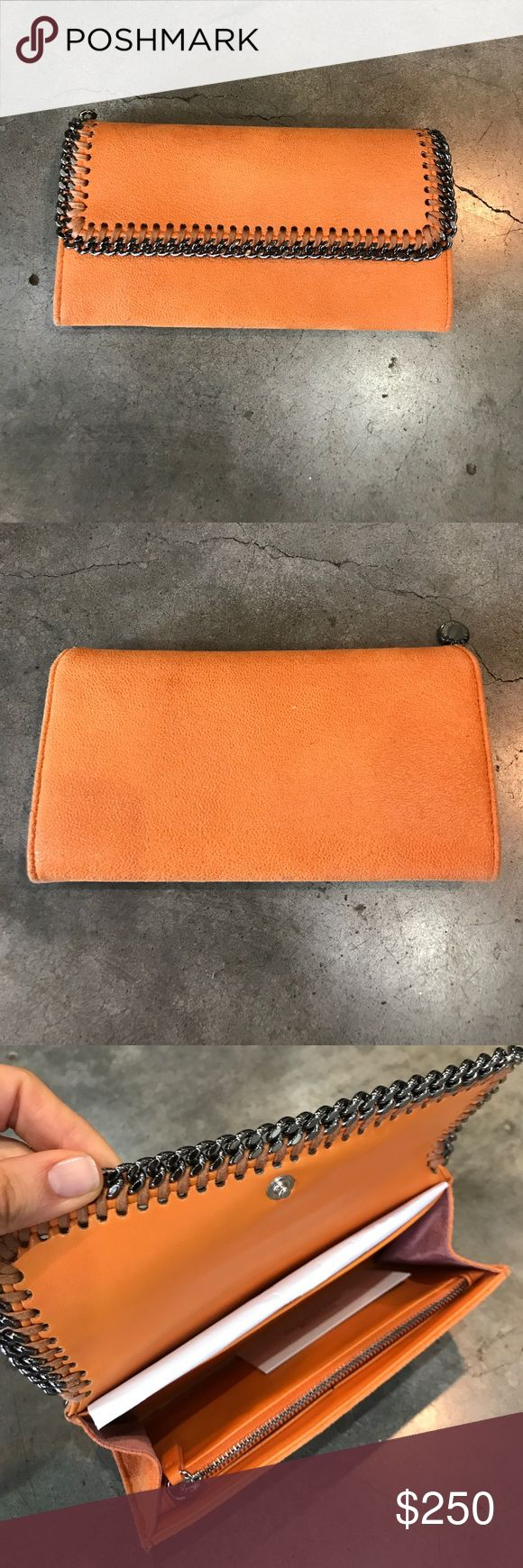 Stella McCartney Falabella Wallet Orange Stella McCartney wallet. Like new, box included. Stella McCartney Bags Wallets