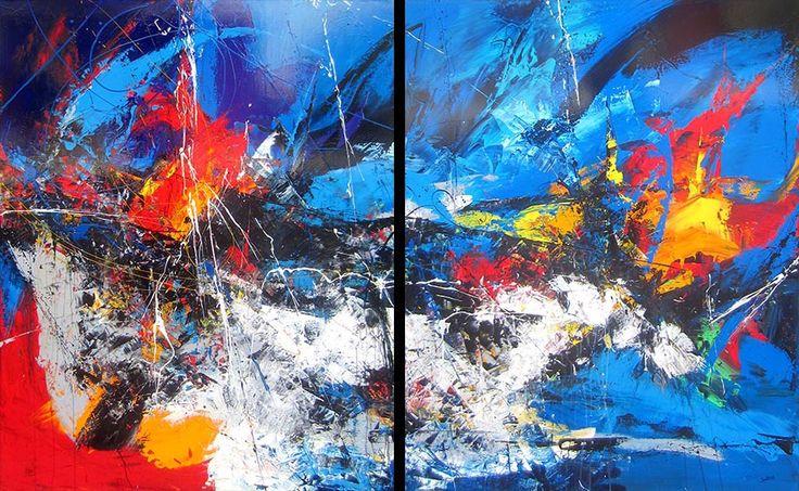 Les 5 éléments par Michel Soulières, artiste présentement exposé aux Galeries Beauchamp. www.galeriebeauchamp.com