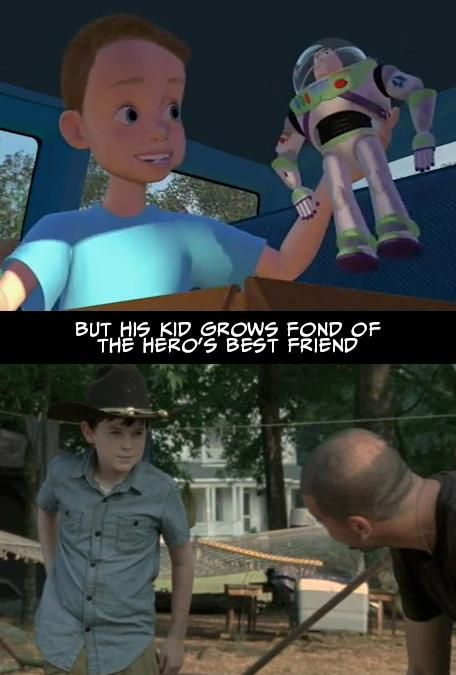 Proof That The Walking Dead and Toy Story Have the Exact Same Plot