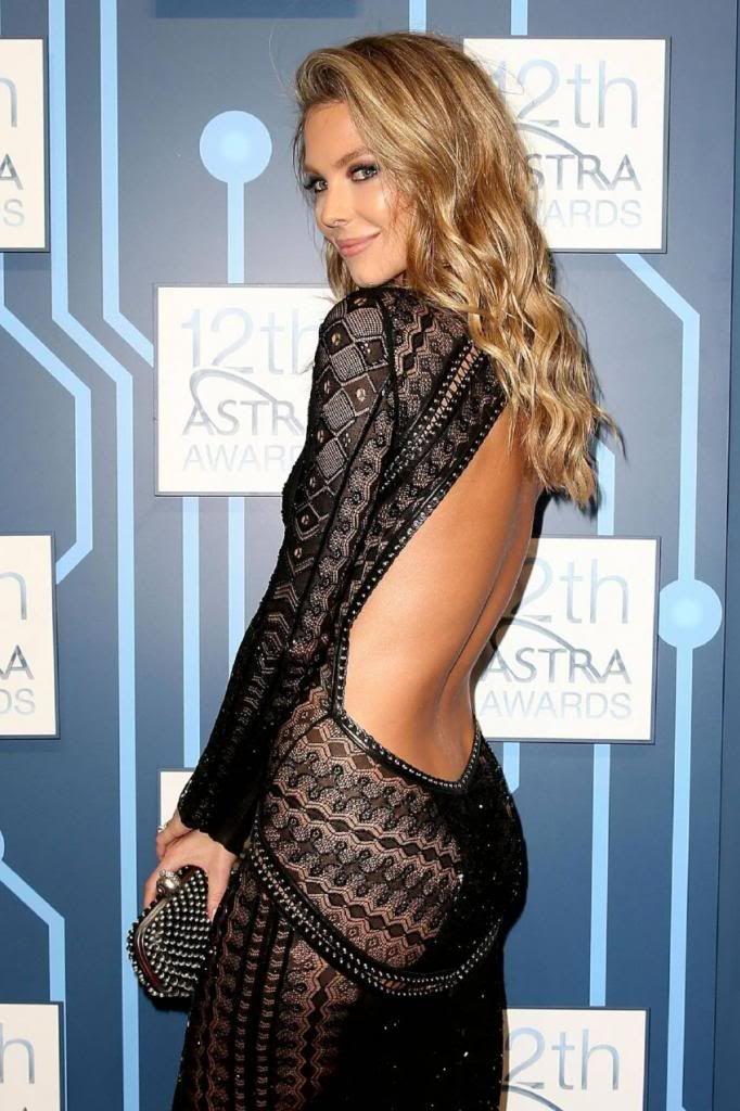 Jennifer Hawkins- 12th Astra Awards in Sydney