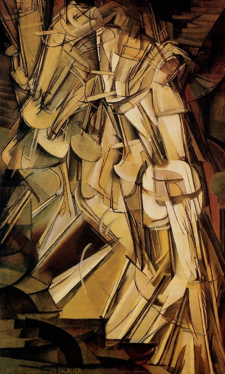 Duchamp- Nude Descending Staircase...one of my all-time favorites!
