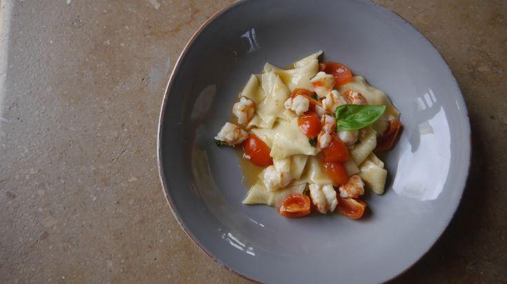 Recipe pate shrimp ali di firenze