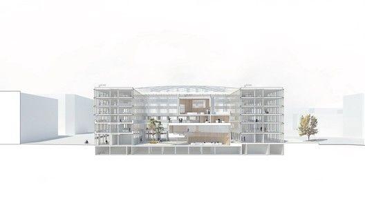 Henning Larsen Architects Wins Competition to Design New City Hall in Uppsala,© Henning Larsen Architects