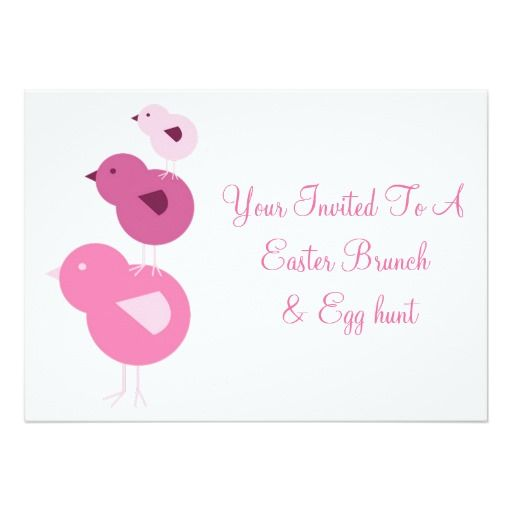 Best Easter Invitations And Cards Images On