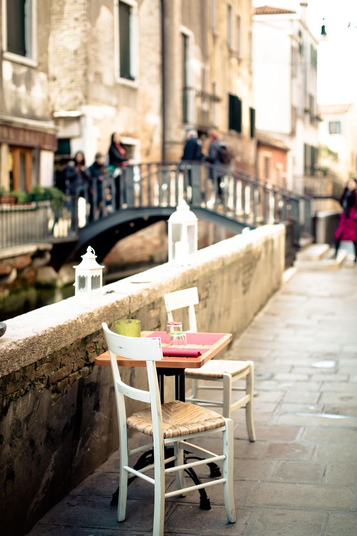 Table for two ~ Venice, Italy  by lei hao