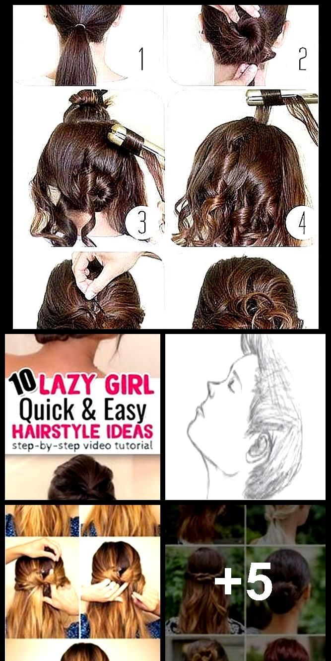 Quick And Easy Hairstyles Ideas Step By Step Video Tutorials For School Bea In 2020 Easy Hairstyle Video Diy Hairstyles Easy Hairstyles