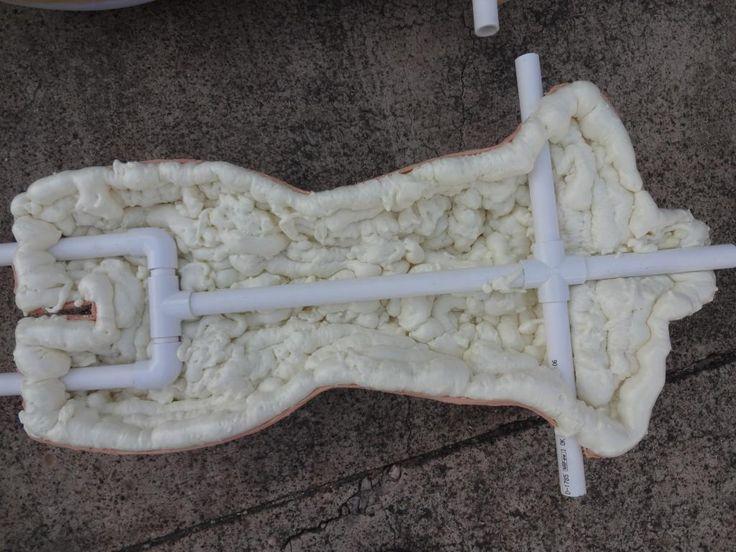 Foam body mannequin, Tut vom HF